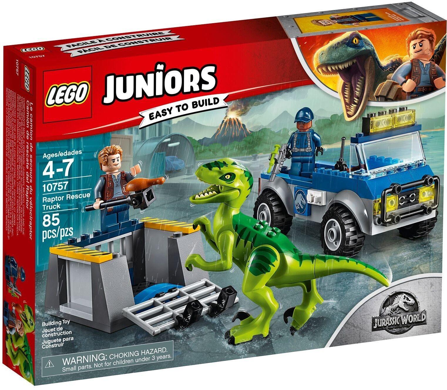 Lego Juniors - - - 10757 avons sauvetage Transporteur Raptor RESCUE camion Nouveau neuf dans sa boîte 0f6b84