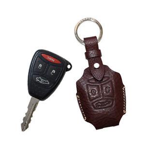 Chrysler Key Fob >> Smart key fob cover for Jeep Wrangler JK SAHARA commander Compass Chrysler Dodg | eBay