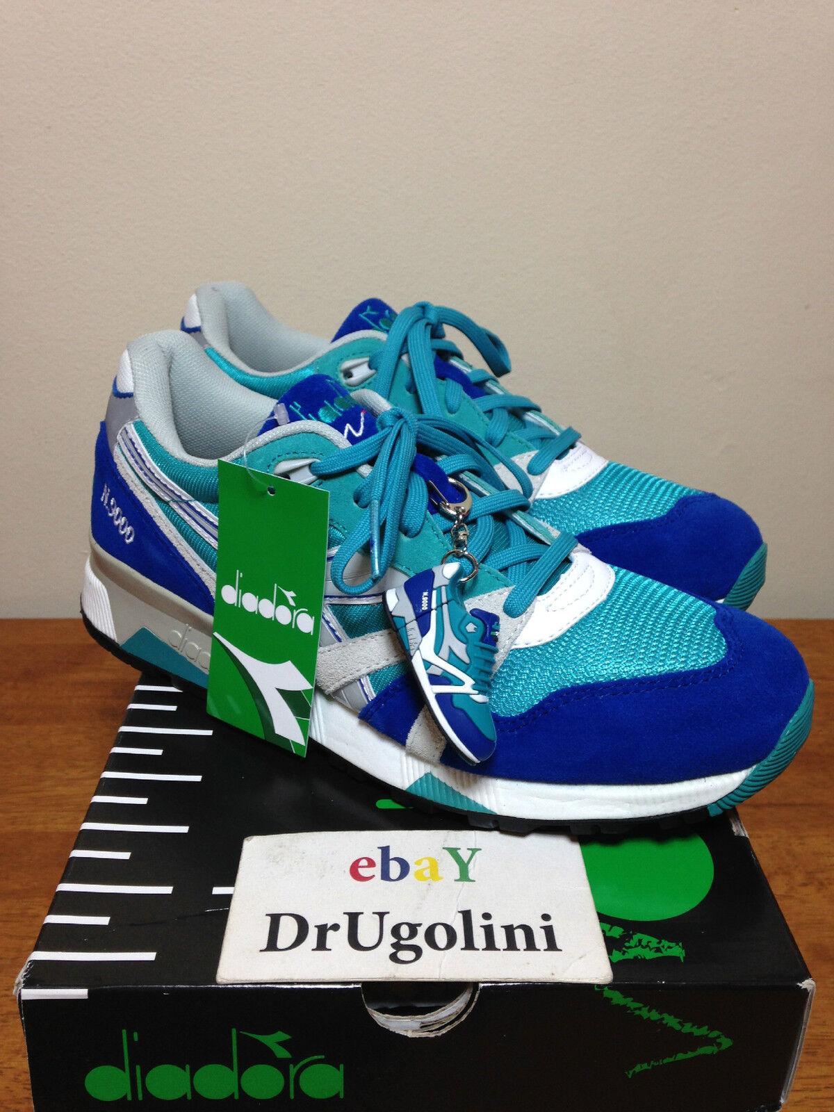 DIADORA N9000 OG 7-13 GREEN WHITE BLUE 160741-01-C5681