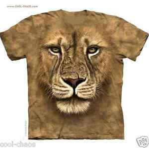Bellissimo Re shirt T Leone Warrior Marrone Lions 3d Arte Uomo Ypq8n