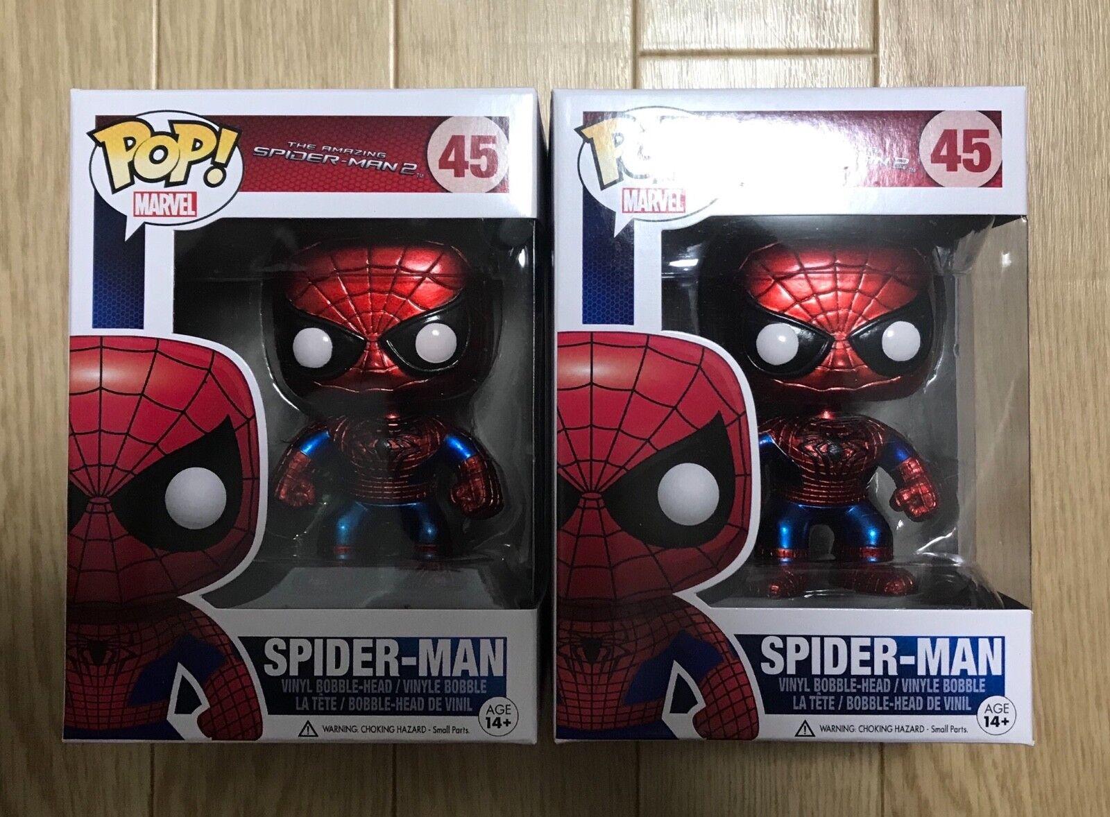 Funko pop amazing spider - man 2   45 spider - man japan - premiere 0860951051141240103