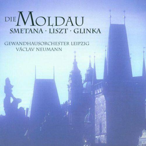 Die Moldau (ETERNA) Smetana, Liszt, Glinka Gewandhausorch. Leipzig/Neumann [CD]