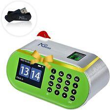 Zkteco Desktop Time Attendance Machine Time Clock Fingerprint Employee Recorder