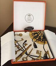 Authentic Hermes Vintage Les Clefs Cles Keys Silk Scarf by Cathy Latham NIB RARE