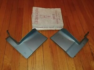 1977-1979 Oldsmobile 98 Regency 2-Piece Rear Quarter Panel Bumper Filler Set