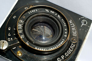 GOERZ-Berlin-Double-Anastigmat-6-120mm-Serie-III-0-with-PERFECT-GLASS