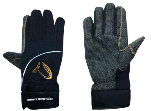 SAVAGE GEAR Shield Glove M/L/XL Anglerhandschuh Landehandschuh Schutzhandschuh Handschuhe Angelsport