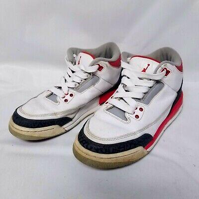 Jordan Nike Air Retro 3 (GS) Junior 398614 120 White White