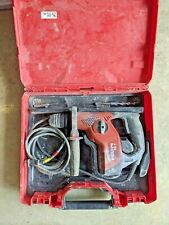 Hilti Te7 Corded Concrete Rotary Hammer Drill With Case And Bits