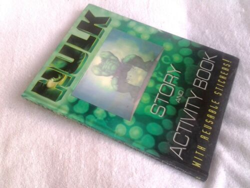 1 of 1 - The Hulk: Annual Movie Story and Activity Book (Hardback, 2003)
