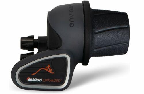 Enviolo CT//CA//TR Boutons Poignée Tournante Noir Gris pour NUVINCI 360//380 avec affichage