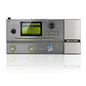 MOOER GE200 Multi Effects Processor Pedal