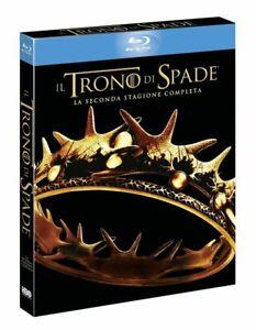 Il-Trono-di-Spade-Stagione-2-5-Blu-Ray-Slipcase-Nuovo-Sigillato