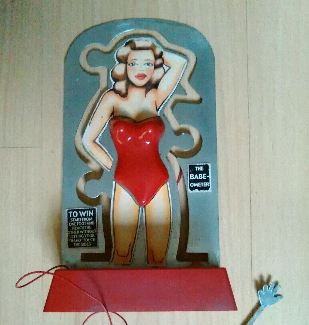 Super Rare        Vintage Babe-O-Meter Game