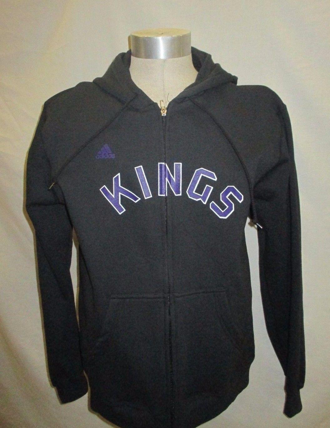 Sudadera con capucha de Sacramento Kings Men M NBA adidas negra