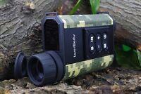 Camouflage Ir Night Vision 6x32 Ir Monocular Scope+laser Distance Meter H1