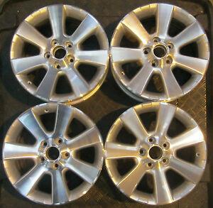 Vw San Diego >> Details About Set Of Four Genuine Vw Tiguan 16 San Diego Alloy Wheels Alloys 5n0 601 025 A