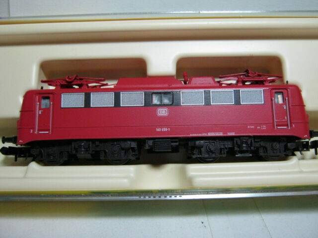 Minitrix N 12850 Elektro Lok BR 140 DB rot (RG/BR/42S2)