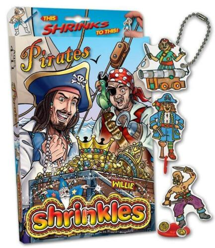 Piraten 1442 Shrinkles Bastel Box Schrumpffolie zum basteln