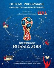 Official FIFA Licensed Programme - 2018 World Cup Russia - MINT