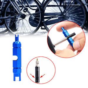 Presta Schrader MTB Mountain Road Bike Bicycle Tubeless VALVE CORE REMOVER TOOL