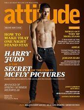 ATTITUDE Magazine GAY,Harry Judd, McFly, NEW