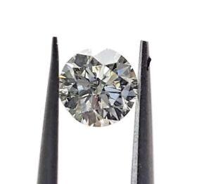 0.51 Carat Certifié Gia Rond Brillant Diamant Seul L Couleur Vvs2 Clarté R0jq2k75-08012552-589236756