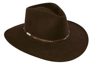 Stetson Cowboy Hat 5X Rabbit Fur CHOCOLATE PAWNEE-No Tax Sell+Free ... a2df2698bf6