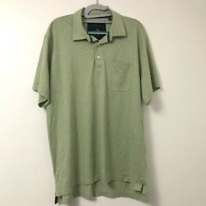 Orvis-Men-039-s-Green-Fly-Fishing-Short-Sleeve-Polo-Shirt-Pocket-Size-Large