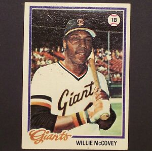 WILLIE-McCOVEY-1978-Topps-34-San-Francisco-Giants-1B-Single