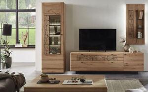 Details zu Hartmann KVIK Massivholzmöbel Wohnzimmer Wohnwand massiv  kernbuche Anbauwand