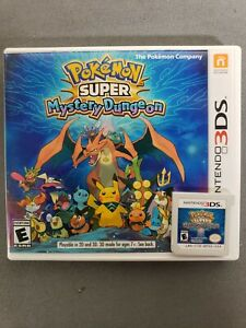 Pokemon-Super-Mystery-Dungeon-3DS-2015-Tested-Works-Free-Shipping