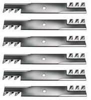 Set Of 6 Scotts 46 Gator Style Mulching Lawn Mower Blades M41967 Free Shipping
