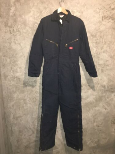 Dickies Vintage  Winter Navy Coveralls  Overalls W