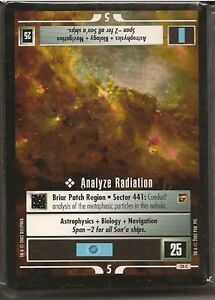 Star Trek CCG To Boldly Go Complete 40 Card Common Set