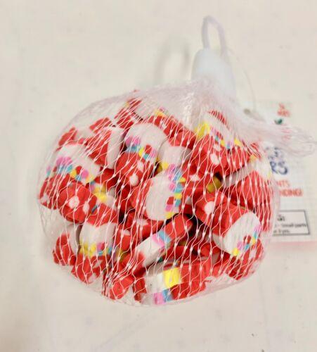 60 Mini Gum ball Machines  shaped erasers teacher supply sorting math counter