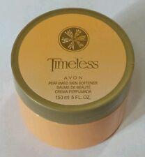 Avon Timeless Perfumed Skin Softener 5 Oz Jar Cream Sensuous 150ml