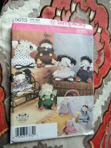 Oop-Simplicity-crafts-5015-Puddin-Head-decorative-dolls-nursery-NEW