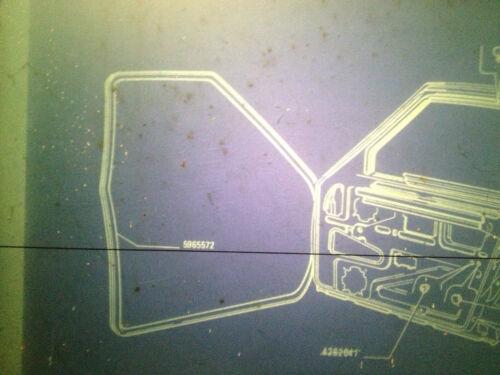 NEW GENUINE FIAT STRADA MK1 /& 2-5 DOOR FRONT RUBBER DOOR SEAL IN BAG 5965572