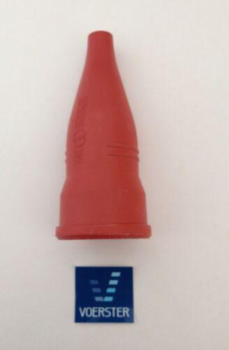 Gummi Schutzkontaktkupplung rot Schuko Kupplung
