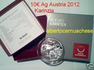 10 Euro 2012 Ag Austria Autriche Osterreich Karinzia Carinzia Karnten Kaernten