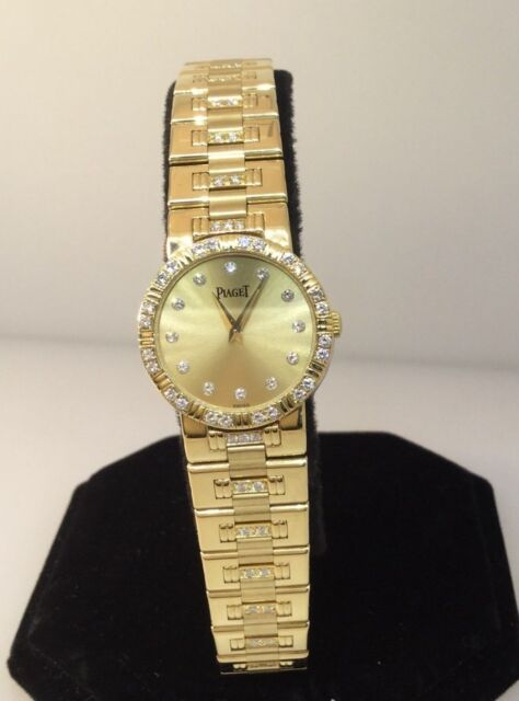 PIAGET DANCER 18K GOLD DIAMOND WOMENS WATCH NEW/OLD STOCK!! $31,900 VALUE!!!
