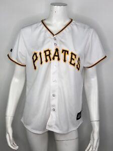 cheaper f7cbb c7b36 Women's Majestic MLB Pittsburgh Pirates Stitched Baseball ...