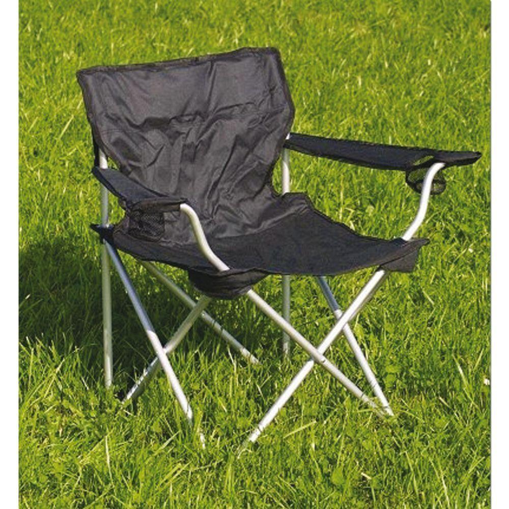 Relags Komfortstuhl Stuhl Campingstuhl Campingstuhl Stuhl Campingmöbel schwarz mit Tragetasche f72d3f