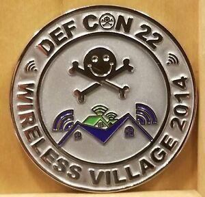 DEF CON 22 Wireless Village Challenge Coin