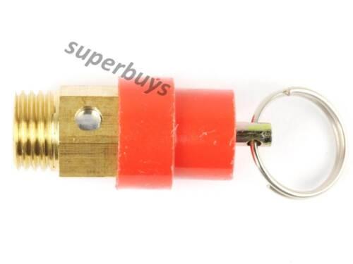 "1//4/"" 4kg 0.4MPA BSP Pressure Relief Valve Regulator 90-120 PSI Brass Thread"