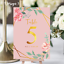 Personalised-Floral-Theme-Wedding-Table-Numbers-Name-Place-Cards-A5-A6-A7 thumbnail 9