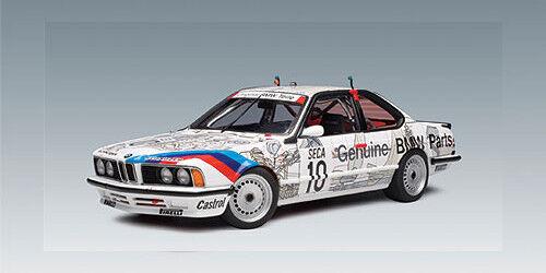 1 18 AUTOart AUTOart AUTOart 1986 BMW 635 CSi SPA Group A Racing 'Original Teile'  10- RARITÄT  | Mangelware  4fbdc3