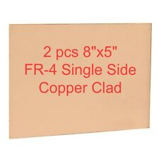 2 pcs Copper Clad 8 inch x 5 inch (20 cm x 13 cm) for PCB making (Single Sided)