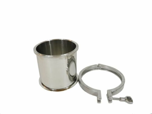 """SS304 6/"""" X 6/"""" TRI CLAMP BASE FOR THE MK III CLOSED LOOP BHO EXTRACTOR"""